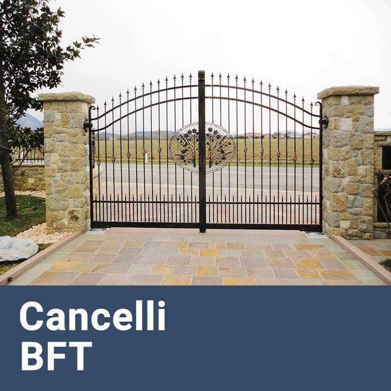 Installazione Cancelli Elettrici e Motorizzati BFT Casal Morena