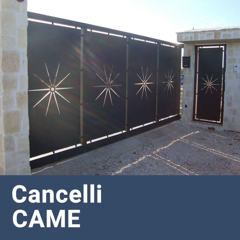 Installazione Cancelli Elettrici e Motorizzati CAME Pisoniano