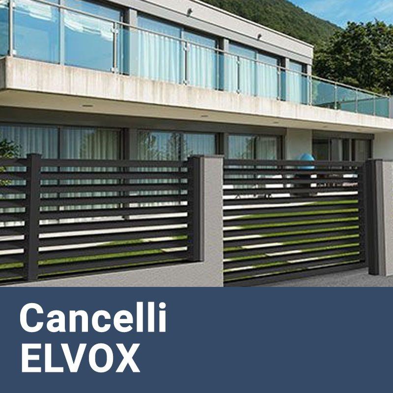 Installazione Cancelli Elettrici e Motorizzati ELVOX Caffarella