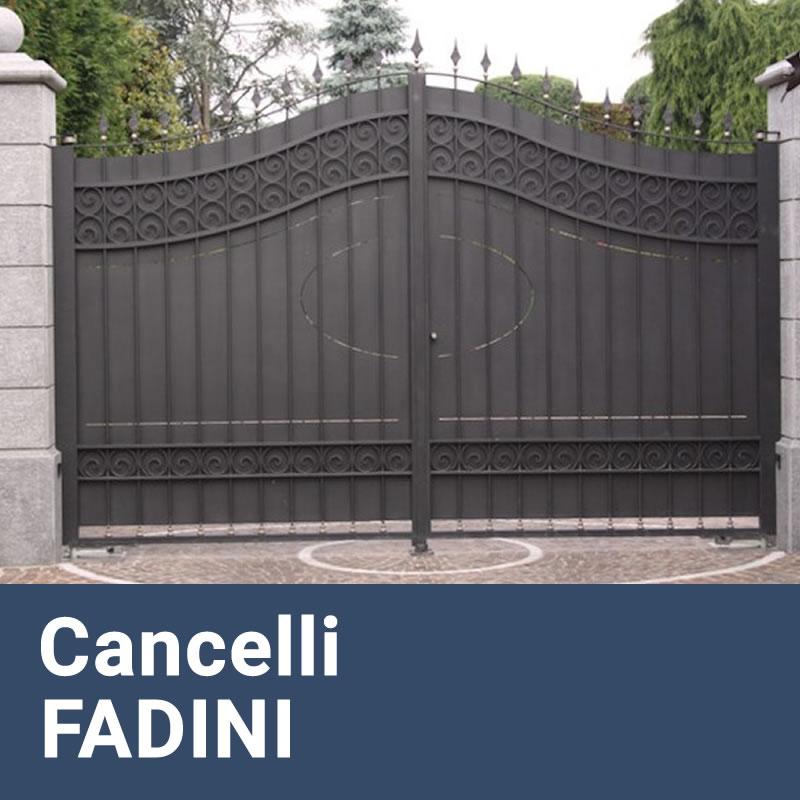 Installazione Cancelli Elettrici e Motorizzati FADINI Caffarella