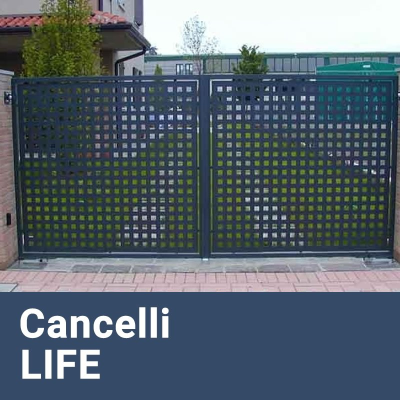 Installazione Cancelli Elettrici e Motorizzati LIFE Caffarella